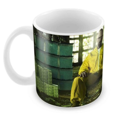 Caneca Branca - Breaking Bad - Money