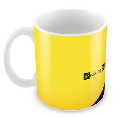 Caneca Branca - Breaking Bad
