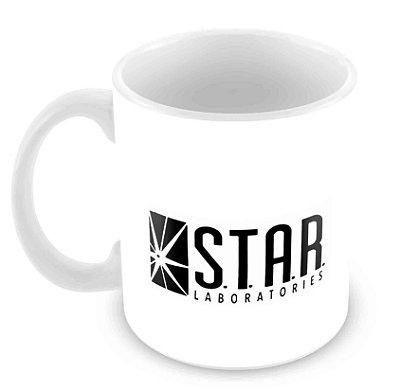Caneca Branca - Star Labs