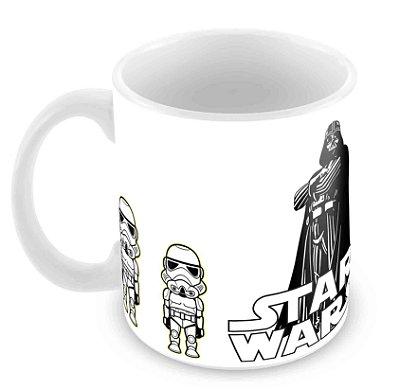 Caneca Branca - Star Wars