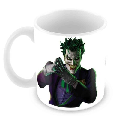 Caneca Branca - Coringa - Why so serious