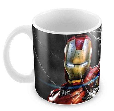 Caneca Branca - Iron Man