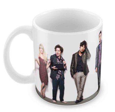 Caneca Branca - The Big Bang Theory