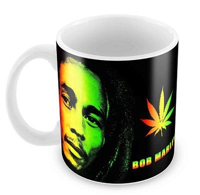 Caneca Branca - Bob Marley