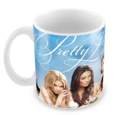 Caneca Branca -The Pretty Little Liars