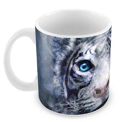 Caneca Branca - A Maldição do Tigre