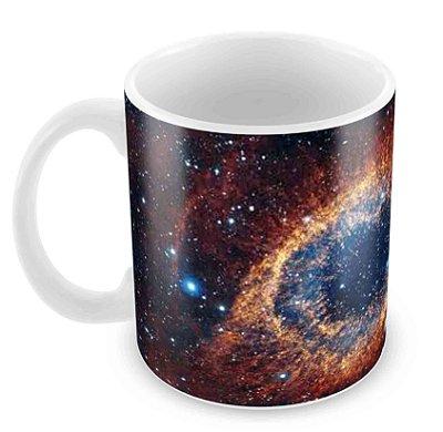 Caneca Branca - Universo