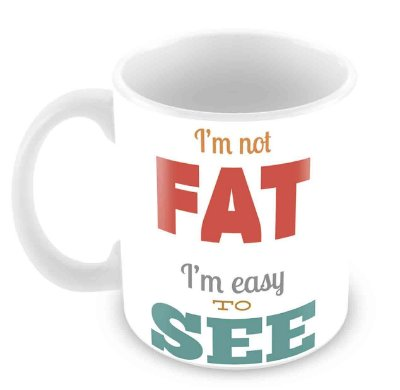 Caneca Branca - Fat