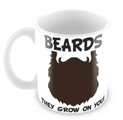 Caneca Branca - Beards