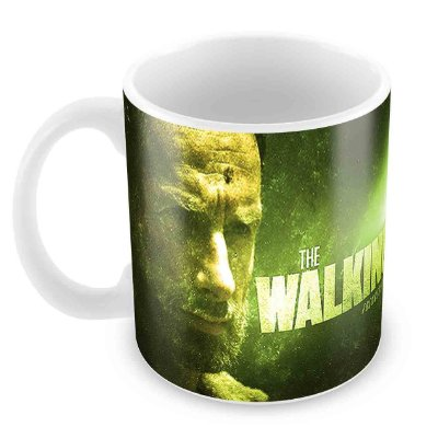 Caneca Branca - The Walking Dead