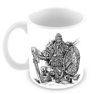 Caneca Branca - Viking