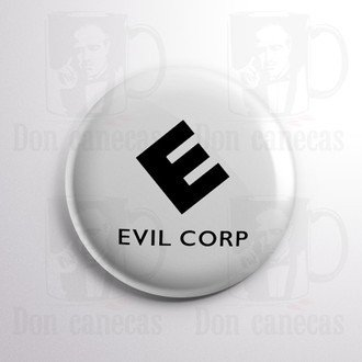 Botton - Mr Robot - Evil Corp