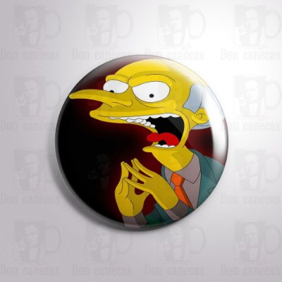 Botton - Simpsons - Montgomery Burns