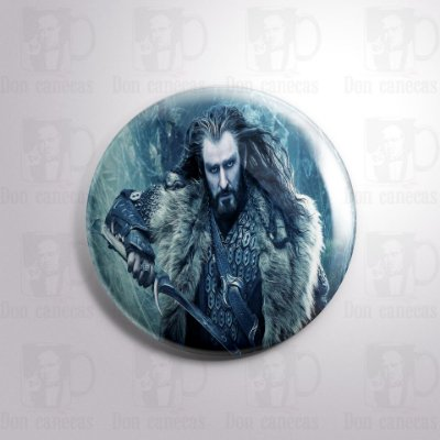 Botton - O Hobbit - Thorin