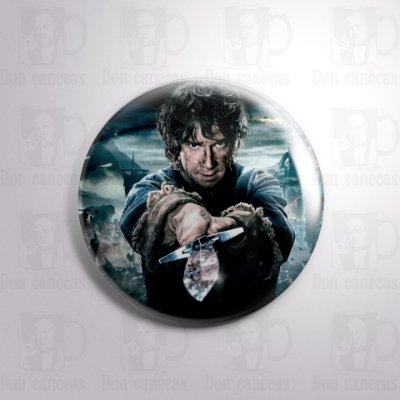 Botton - O Hobbit - Bilbo Baggins