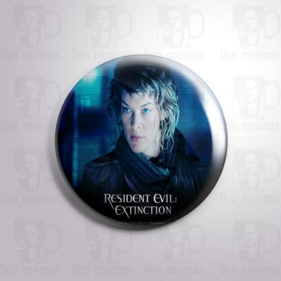 Botton - Resident Evil - Alice