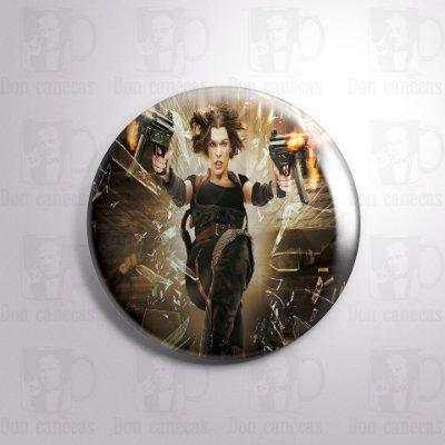 Botton - Resident Evil - Alice I