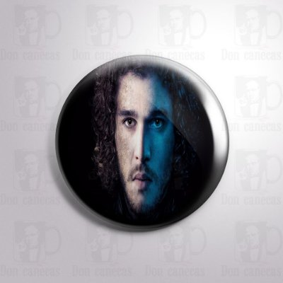 Botton - Game of Thrones - Jon Snow