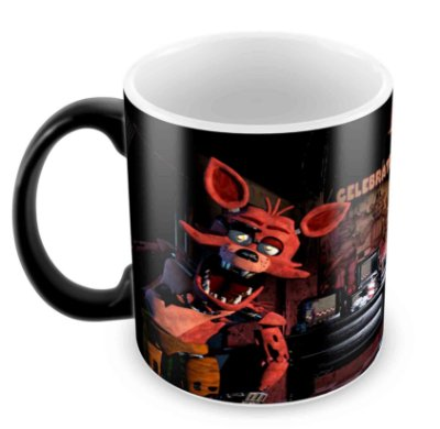 Caneca Mágica  -  FNAF - Five Nights at Freddy's