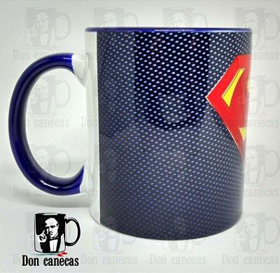 Caneca Azul - Superman