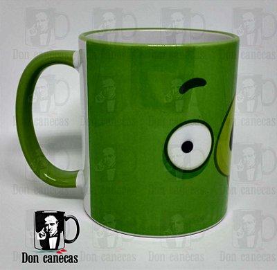 Caneca Verde - Angry Birds