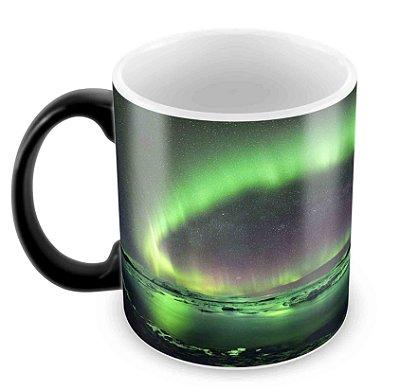 Caneca Mágica  - Aurora Boreal