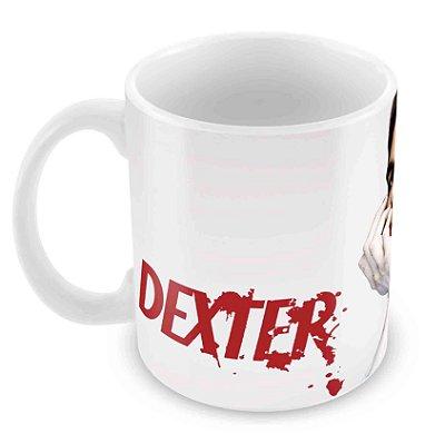 Caneca Branca - Dexter