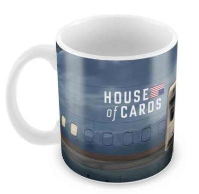 Caneca Branca - House of Cards - II