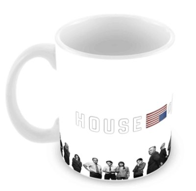 Caneca Branca - House of Cards - IV