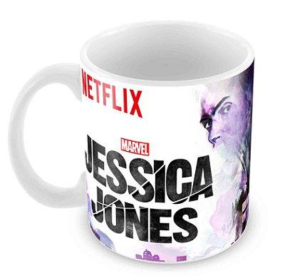 Caneca Branca - Jessica Jones