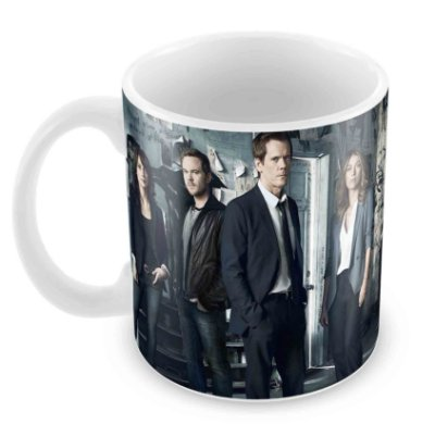 Caneca Branca - The Following