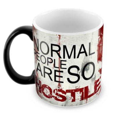 Caneca Mágica  - Dexter - Normal People