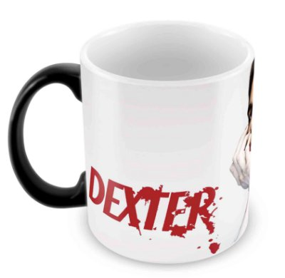 Caneca Mágica  - Dexter - Rosto