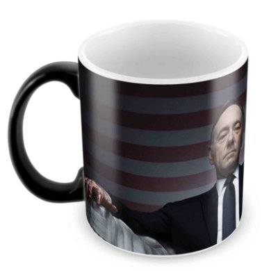 Caneca Mágica  - House of Cards