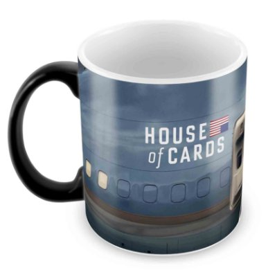 Caneca Mágica  - House of Cards - II