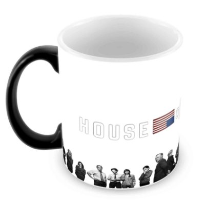 Caneca Mágica  - House of Cards - IV