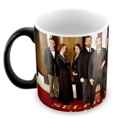 Caneca Mágica  - Mr Selfridge - Elenco