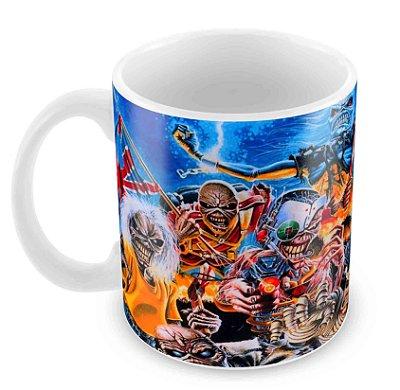 Caneca Branca - Iron Maiden