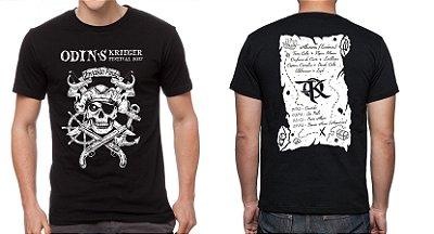 Camiseta  - Odin´s Krieger Fest 2017 - Invasão Pirata OFICIAL