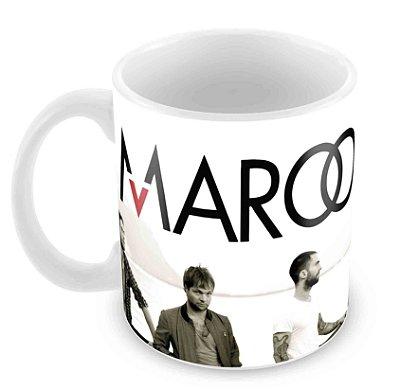 Caneca Branca - Maroon Five - Banda