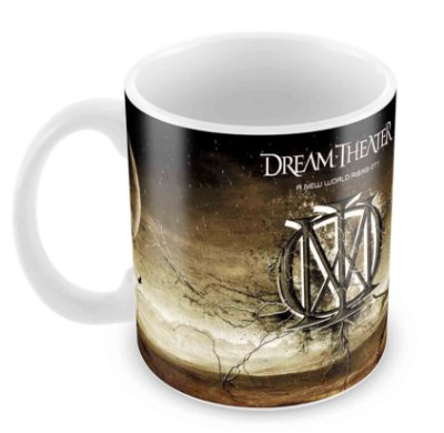 Caneca Branca - Dream Theater