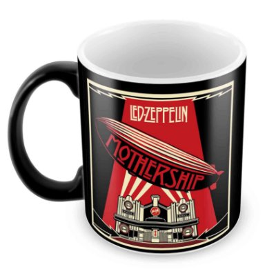 Caneca Mágica  - Led Zeppelin - Mothership