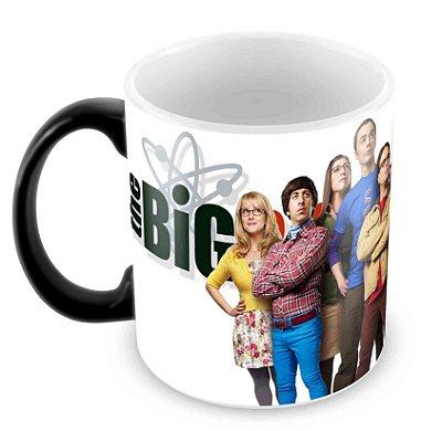 Caneca Mágica - The Big Bang Theory - Elenco