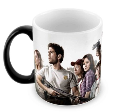 Caneca Mágica - The Walking Dead - Elenco 3