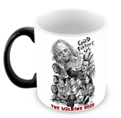 Caneca Mágica - The Walking Dead - God