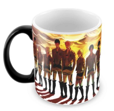 Caneca Mágica - Attack on Titan
