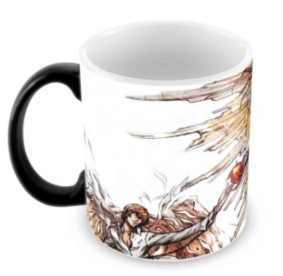 Caneca Mágica - Death Note - Demon