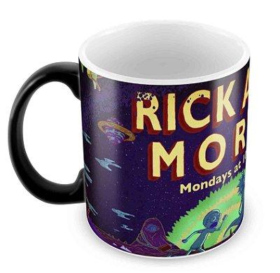 Caneca Mágica - Rick e Morty - Logo