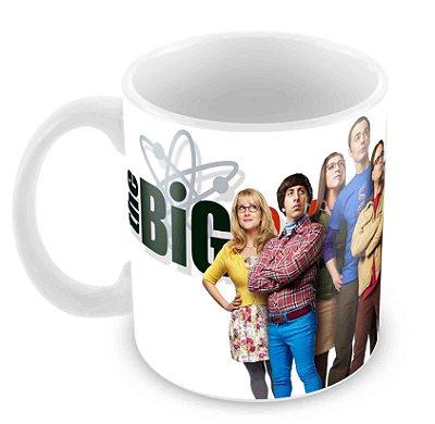 Caneca Branca - The Big Bang Theory - Elenco