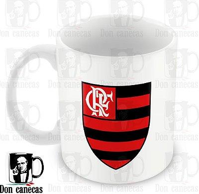 Caneca Branca - Flamengo - Símbolo